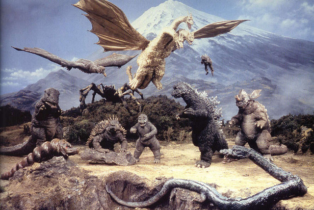 Retro Review - DESTROY ALL MONSTERS (1968)