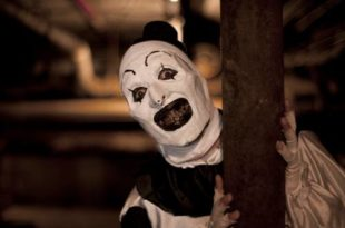 "If he spoke, Art The Clown (Mike Gianelli) might tell us, ""It's an evil clown thing.  You wouldn't understand."""
