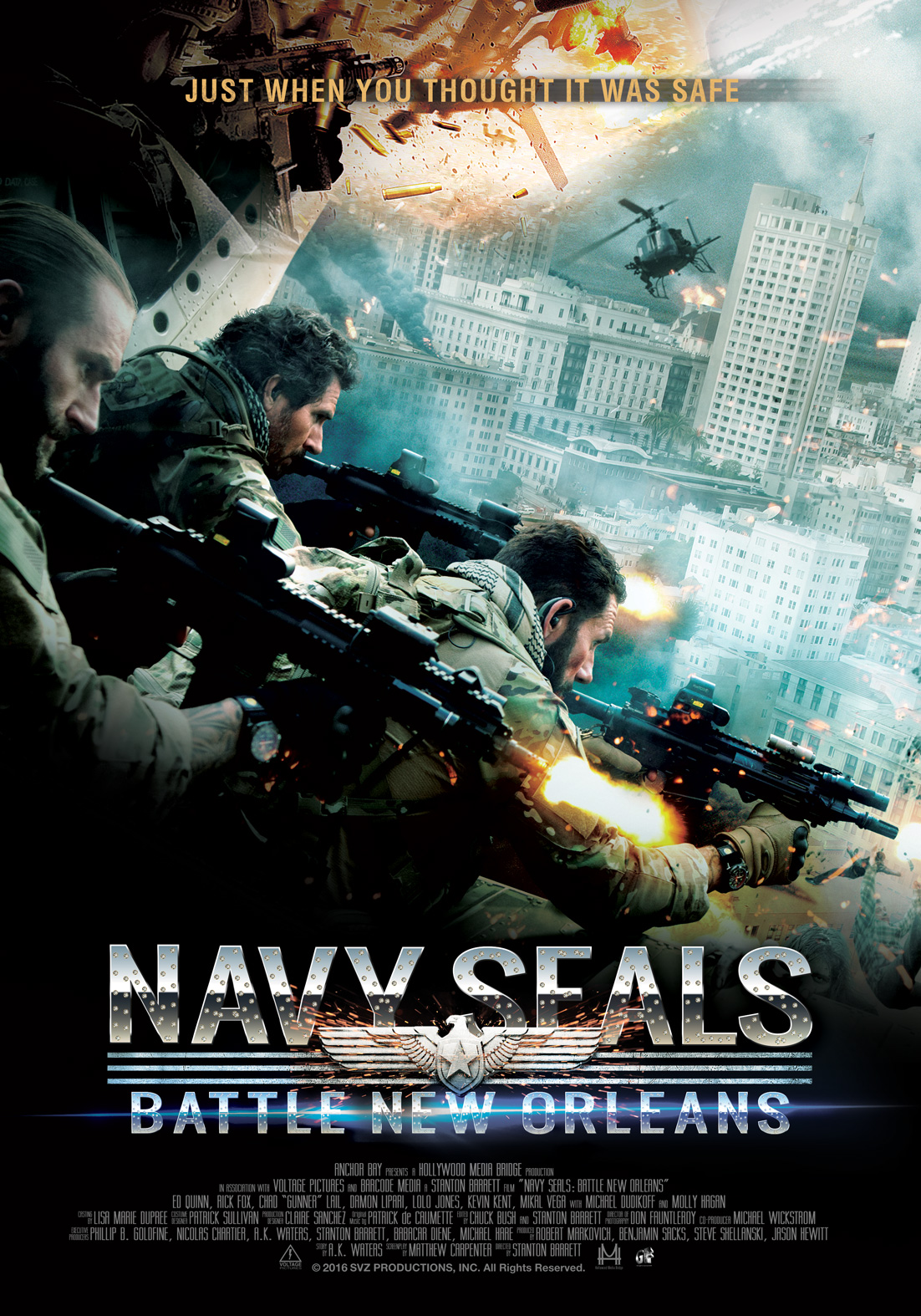 Navy SEALs: The Battle for New Orleans (2015) - Movie Review