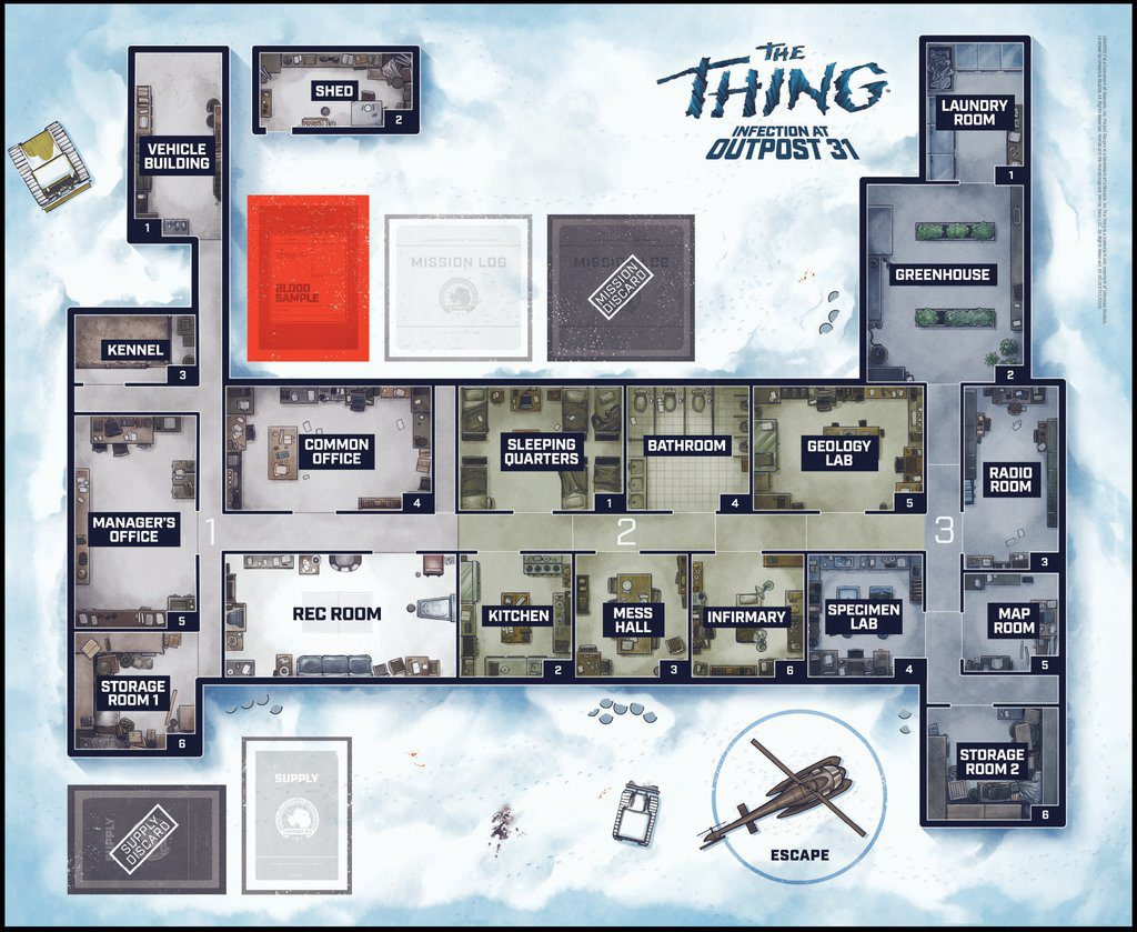The Thing: Infection at Outpost 31