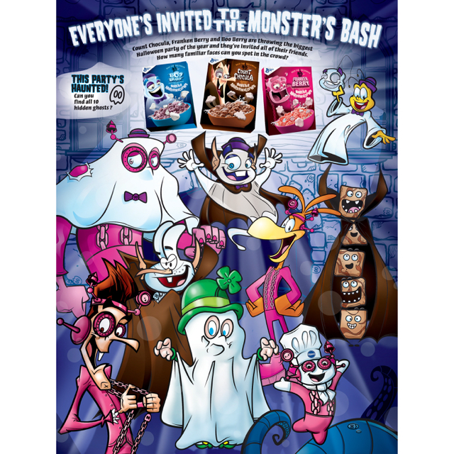 General Mills Monster Cereals Are Almost Here!