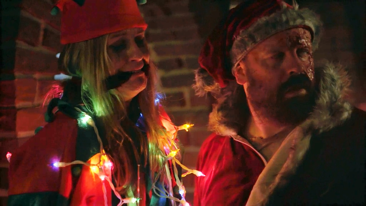 this was such a fun and creative horror film way different than any other christmas horror story that ive ever seen it was bloody deranged mysterious - Once Upon A Christmas Full Movie