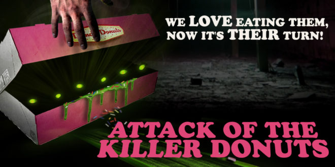 attack of the killer donuts giveaway