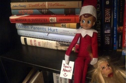 Elf On The Shelf Takes On Horror Icons Pophorror
