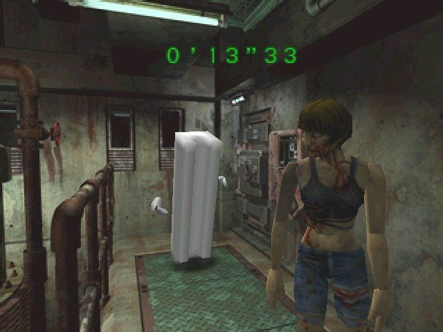 29441 Resident Evil 2 Windows Screenshot Tofu Is Only Armed With