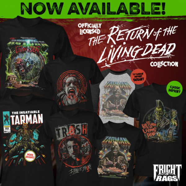 Fright-Rags Adds Three More Horror Collections and Labor Day