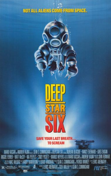 DeepStar Six' Turns 30 - Not All Aliens Come From Space! - PopHorror