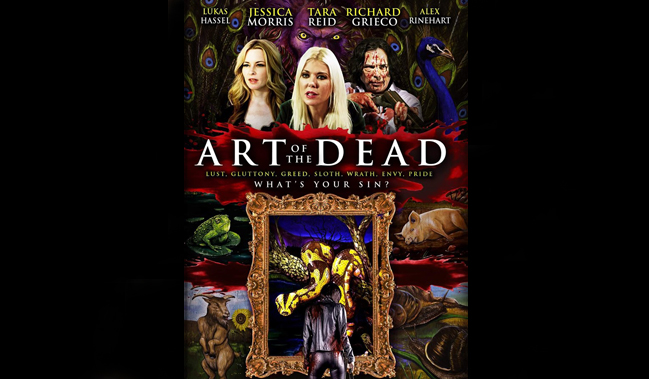 Art Of The Dead 2019 Movie Review Original Horror Brandishing